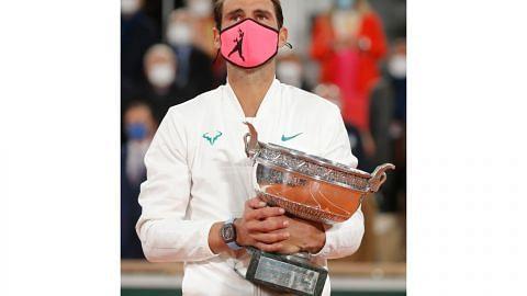 Nadal samai rekod 20 Grand Slam Federer