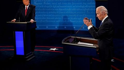 Impian Trump, harapan Biden