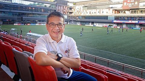 Edwin Tong: Pasukan Singa bukan 'sampah', perlu diberi peluang
