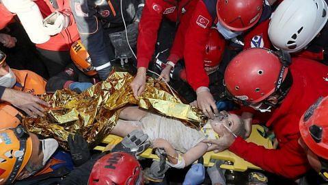 Lagi mangsa diselamatkan dari puing gempa Turkey