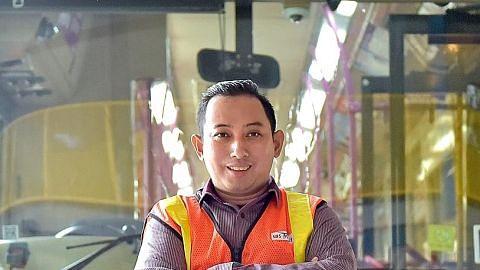 Dulu pandu 'VIP', kini bawa penumpang sebagai kapten bas