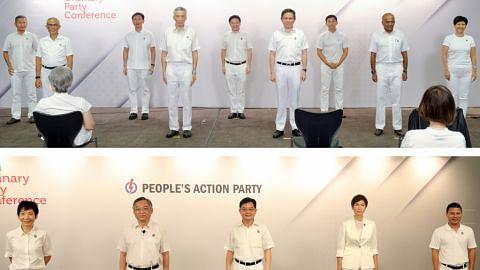 Lawrence Wong, Desmond Lee dipilih anggota CEC buat kali pertama