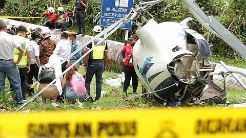 Nahas helikopter Selangor: Abang tidak sangka mesej terakhir dari adik