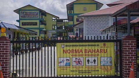 Sekolah di M'sia tutup gara-gara kawalan pergerakan