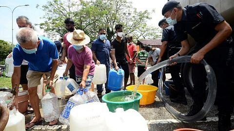 Bekalan air terganggu di beberapa kawasan Lembah Klang
