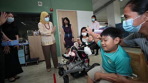 Kanak-kanak kurang upaya dapat perhatian Presiden Halimah