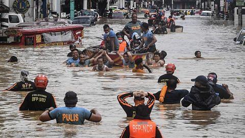Manila ditenggelami banjir