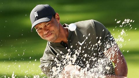 Tiger Woods kembali cemerlang