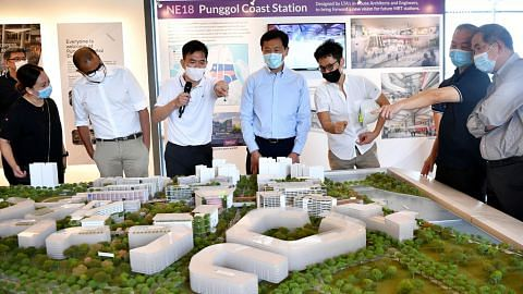 MRT Punggol Coast siap jelang 2024