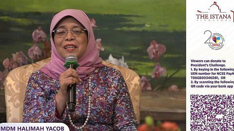 Presiden Halimah 'buka' Istana, 'temui' masyarakat