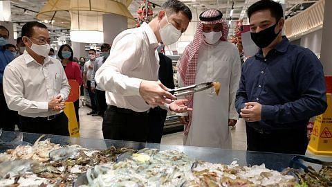 Import udang dari Saudi pelbagaikan sumber makanan