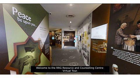 RRG lancar lawatan maya ke pusat sumber, kaunseling
