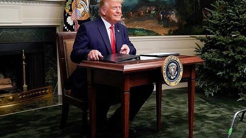 Trump akhirnya mengaku kalah?