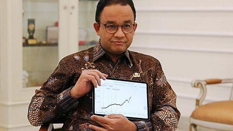 Gabenor Jakarta, timbalan dijangkiti Covid-19