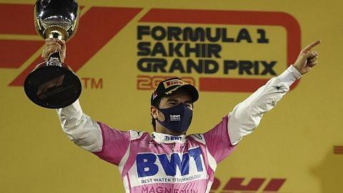 Perez catat kemenangan sulung dari corot dalam GP Sakhir