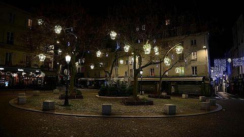 Sepi di Paris berikutan perintah berkurung untuk bendung jangkitan