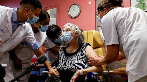 Bekalan vaksin Pfizer ke lapan negara Eropah ditangguh