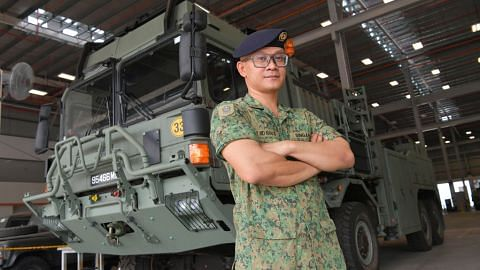 Diiktiraf latih jurutera, teknisyen kendali kenderaan SAF