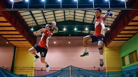 Bola baling SG azam bangkit berkalung pingat pada Sukan Sea Hanoi tahun ini