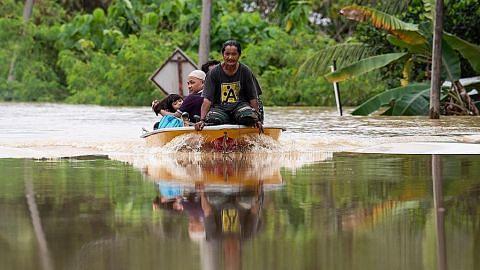 Keadaan banjir di Johor, Pahang makin teruk