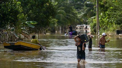 Banjir di 5 negeri, lebih 43,000 masih di pusat pemindahan
