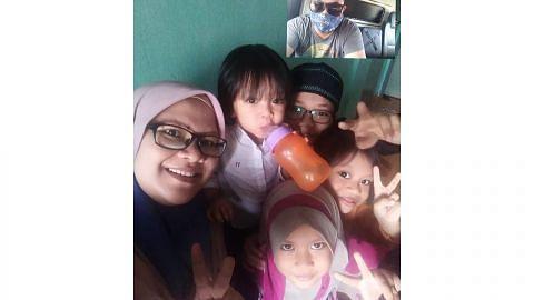 ANAK ISTERI DI TAMPOI, JOHOR Hanya panggilan video peluang 'bertemu' anak isteri