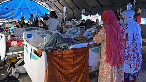 Jumlah korban gempa Sulawesi meningkat