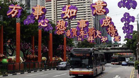 Penyalaan lampu Tahun Baru Cina diteruskan, disesuaikan