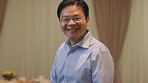 Lawrence Wong: Perlu proaktif tingkat kemahiran untuk kekal relevan