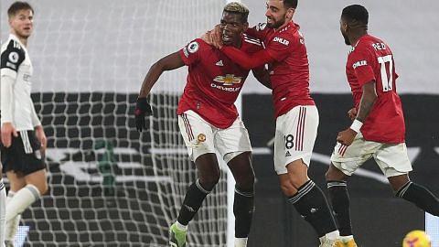Pogba lonjak United ke puncak liga