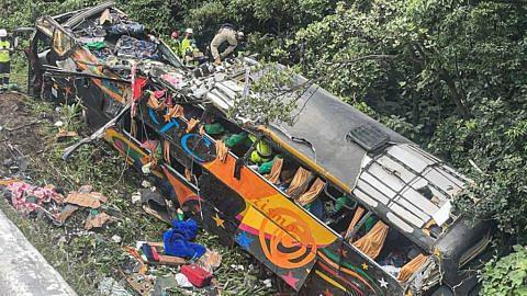 19 maut bas terbabas di Brazil