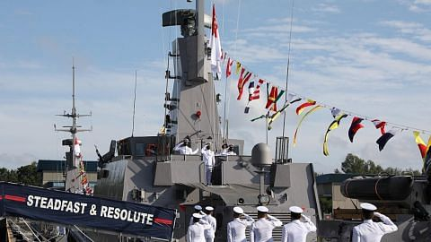 Flotila baru lindungi perairan Singapura