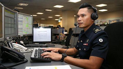 Tenangkan mangsa kecemasan antara cabaran pegawai SCDF