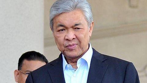 Desakan letak jawatan tidak akan selesaikan masalah Umno: Ahmad Zahid
