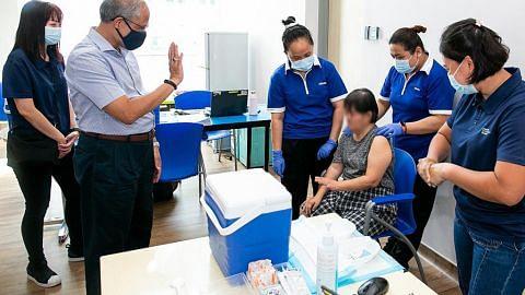 Lebih 650 staf, penghuni rumah kebajikan terima vaksin Covid-19
