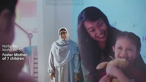Video papar kemajuan, aspirasi wanita