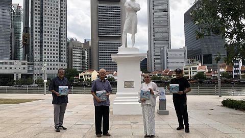 GAYA HIDUP Buku pikat kanak-kanak selami sejarah Singapura
