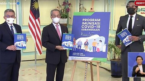 Kumpulan pertama vaksin Covid-19 tiba di M'sia 21 Feb