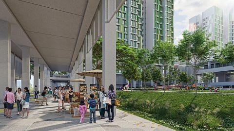 Lebih 70% keluarga telah pindah ke flat BTO di Bidadari