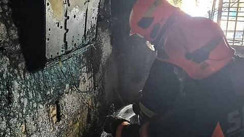 10 cedera dalam kebakaran di Whampoa