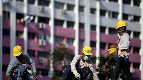 Projek bagi pekerja asing jalani sebahagian besar SHN di dormitori dibina segera