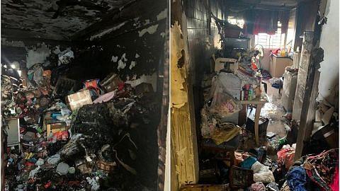 Wanita maut dalam kebakaran di Ang Mo Kio