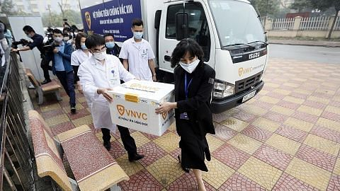 Sebilangan besar negara Asia mula vaksinasi