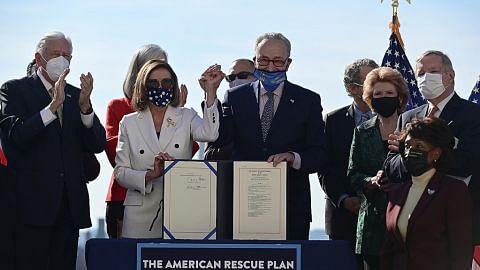Kongres AS lulus pakej bantuan ekon $2.6 trilion