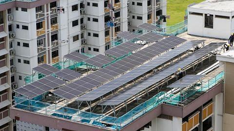 HDB buka tender pasang panel suria di 1,198 blok, 57 tapak