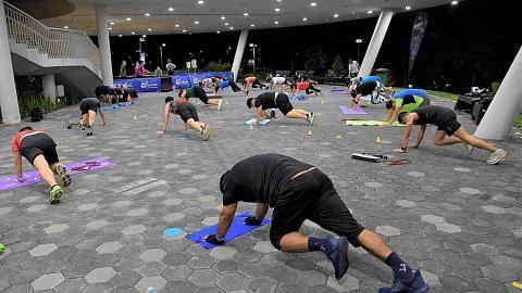Program Latihan Peningkatan Kecergasan ganti persediaan IPPT