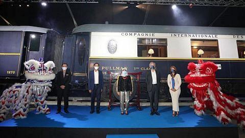 BERITA Pameran Orient Express dibuka rasmi di Gardens by the Bay