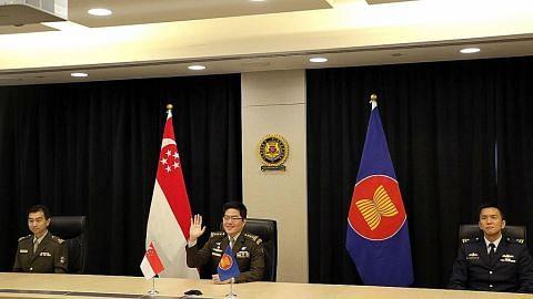 SG suara keprihatinan isu Myanmar sewaktu Mesyuarat Ketua Pasukan Pertahanan Asean