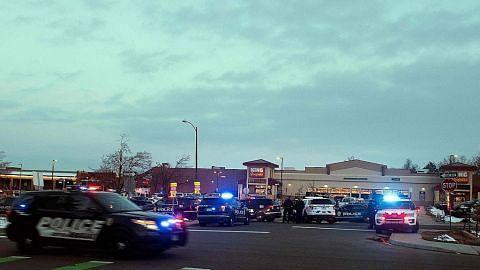 Tembakan di AS: 10 orang termasuk satu pegawai polis maut