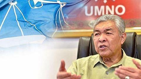 TERSERAH PADA PAS TIDAK BINCANG DENGAN PKR Umno tidak akan kerjasama dengan PKR pada pilihan raya: Ahmad Zahid